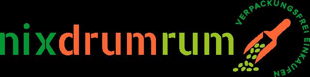 nixdrumrum logo verpackungsfrei einkaufen